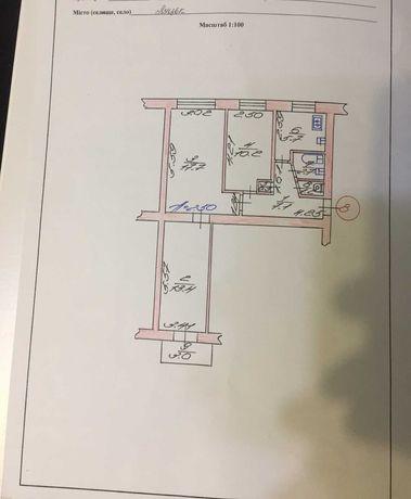 Продам  3-кімнатну квартиру по вул. Гордіюк