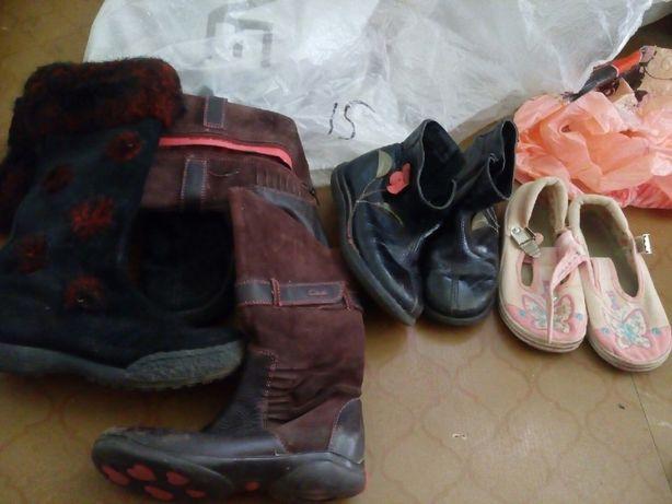 Обувь для девочки 28-29 за 400р