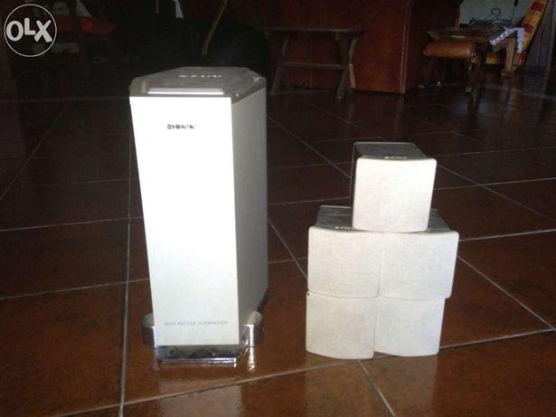 colunas home cinema sony DAV S 500