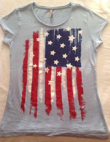 T-shirts / camisolas de manga curta - várias marcas S, M e L