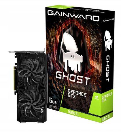 32 karty VGA Gainward GeForce® GTX 1660 Ti 6GB Ghost