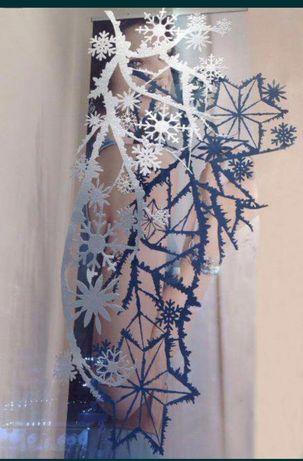 Декорація 3D сніжинки