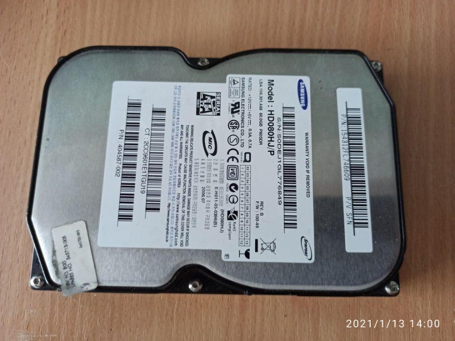 Диск Samsung 80 ГБ для ПК. Полтава - изображение 1
