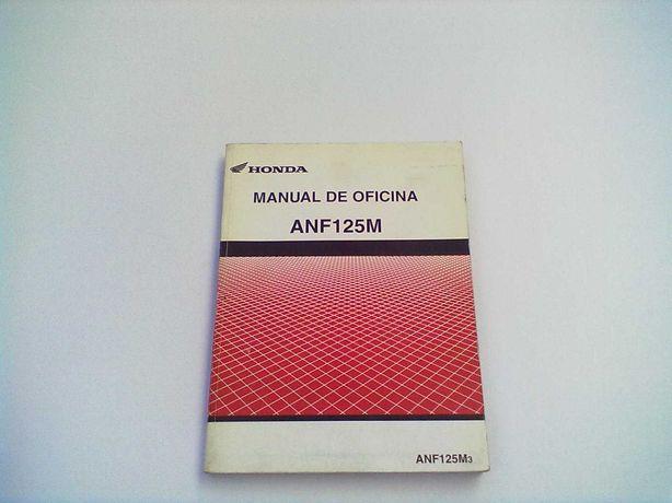 Manual Técnico Oficial Honda Innova ANF 125 M