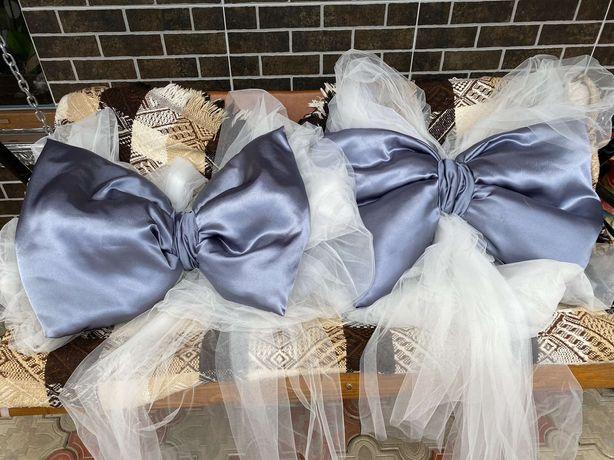 Банти фатінові для весільної брами...