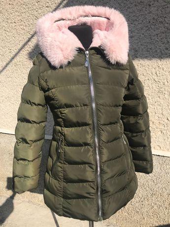 ПУХОВИК Зимовий колір хакі
