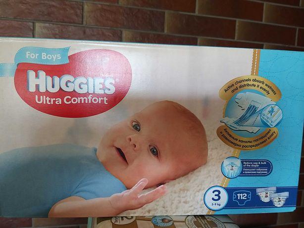 Подгузники Huggies ultra comfort 3 (5-9кг) 112шт
