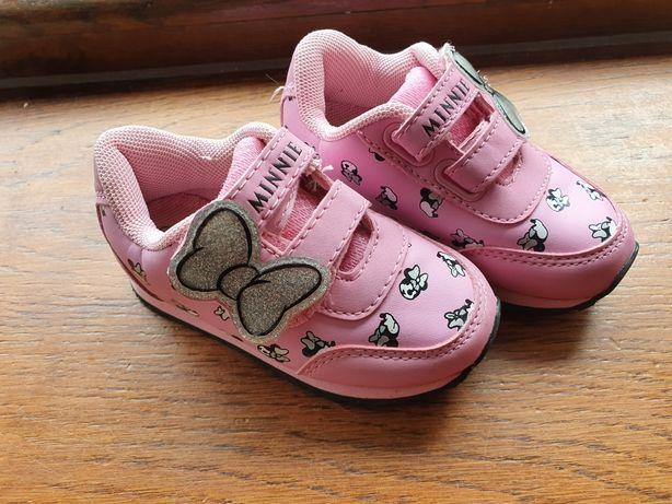 Adidasy,  buty dziecięce, Myszka Miki dziewczynka 23, jak nowe