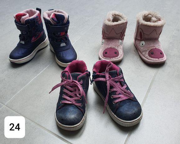 Butki dla dziewczynki roz 24
