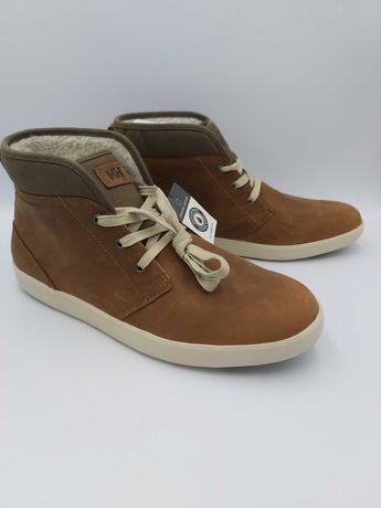 Nowe buty hh Helly hansen botki skórzane brązowe trzewiki rozmiar 45