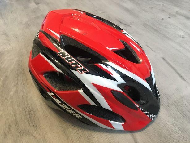 *Kask rowerowy LAZER NUT'Z RACE RED* Rozmiar uniwersalny Okazja!!!