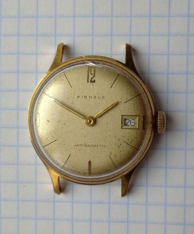 Часы позолоченые немецкие KIENZLE