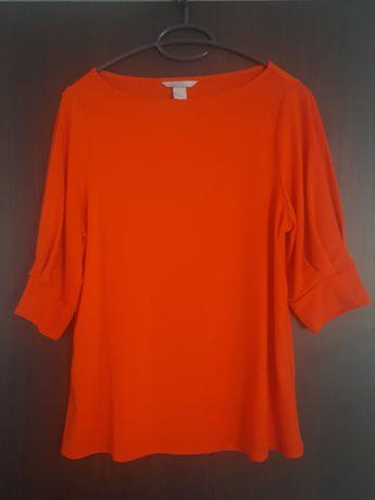 Bluzka czerwona H&M