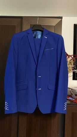 Garnitur męski Niebieski 188cm.