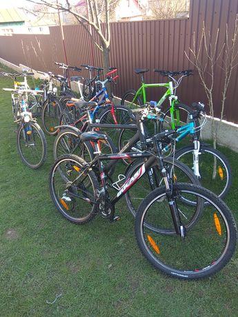 Велосипеди алюмінієві з Європи: Scott, Raleigh,Conway,Orbea,Centurion