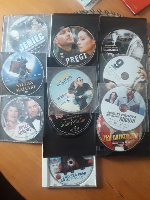 Zestaw 13 filmów DVD Jeniec, 9 kompania, Boska Florence, Pręgi Lublin - image 1
