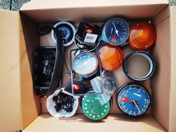 Części honda cb 750 Supersport Four 550 500 gmole zegary amortyzatory