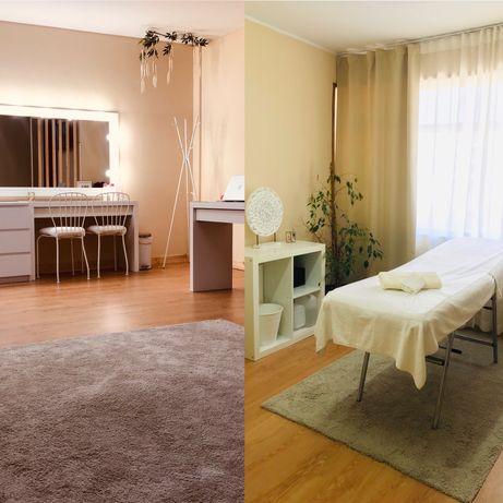 Alugo sala vazia e sala maior em atelier de beleza e bem-estar