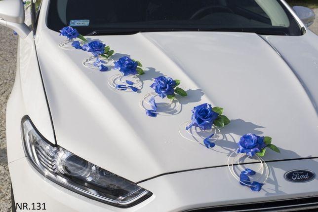 Przybranie samochodu/dekoracja na auto do ślubu CHABROWA NR. 131