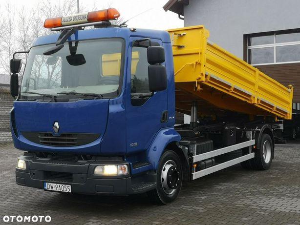 Renault Midlum 12.220 DXI Wywrotka 3-Stronna Resor 127 TYS.KM! JAK NOWA!  Midlum 12.220 DXI Wywrotka 3-Stronna Resor 127 TYS.KM! JAK NOWA!