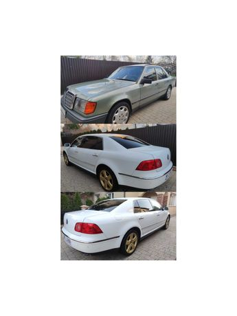 Vw Phaiton W12 Long 4x4 / + Merceces w124 Zamiana  NA 1