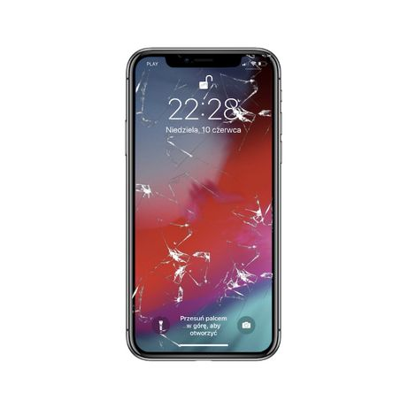 Wyświetlacz LCD Ekran Dotyk iPhone X Serwis GSM Wymiana Gratis Wrocław