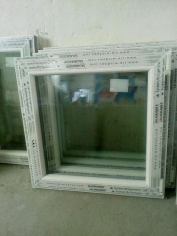 Sprzedam okno pcv nowe wys 80 szer 80 uchylno- rozwierne .TANIO .