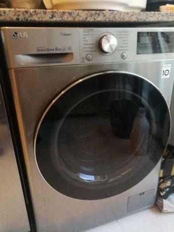 Máquina de lavar roupa LG como nova em garantia