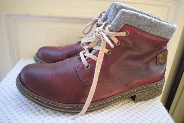 зимние ботинки Риекер Rieker р.40 26,2 см Германия