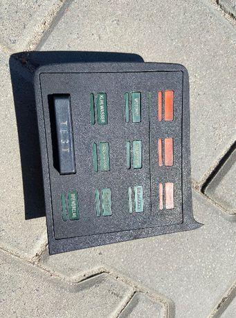 check panel bmw e24 cs, wersja do 1982 roku 635i 635cs csi