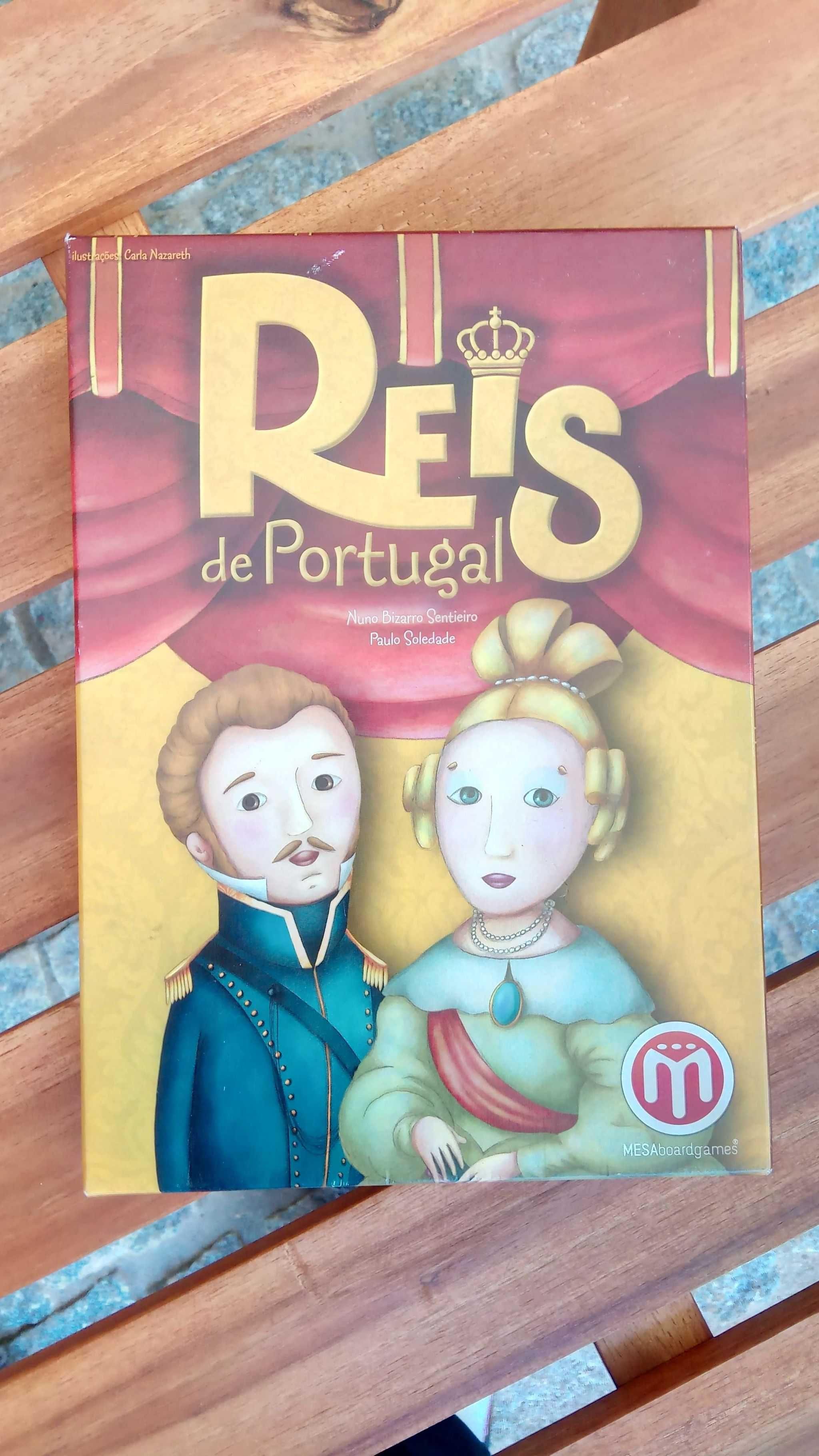 Jogo de Cartas Reis de Portugal
