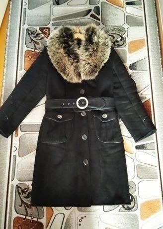 Дубленка , пальто женское