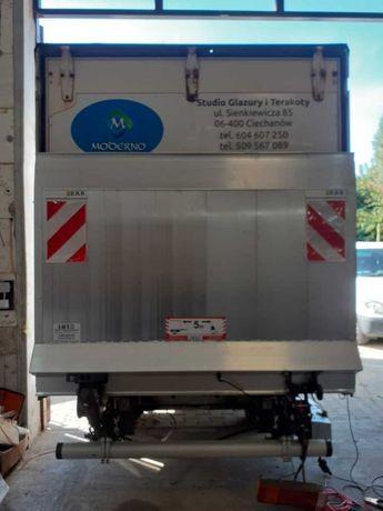 Winda Bar 1000 kg do Iveco Daily. Raty 0% wplaty.