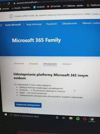 Subskrypcja Microsoft/Office 365