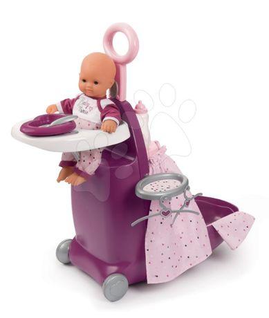 2 ПО ЦЕНЕ 1 Smoby Baby Nurse Прованс раскладной чемодан 3 в 1 220346
