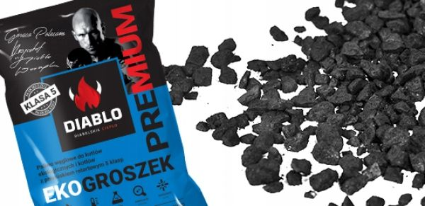 Ekogroszek Diablo PREMIUM/26 MJ/kg/dostawa gratis/Aleksandrów Łódzki