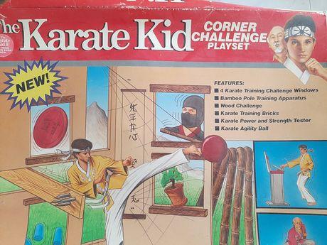 Karate Kid corner challenge playset Remco anos 80 com caixa