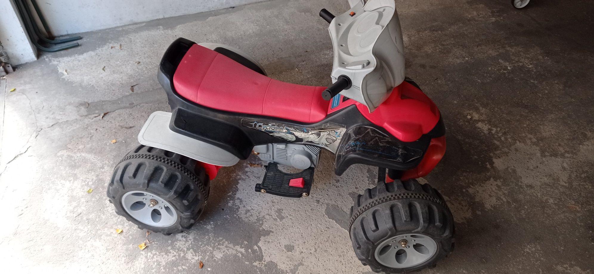 auto na akumulator dla dzieci firma CYCLONE