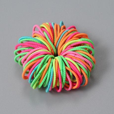 Резиночки для волос 100 шт