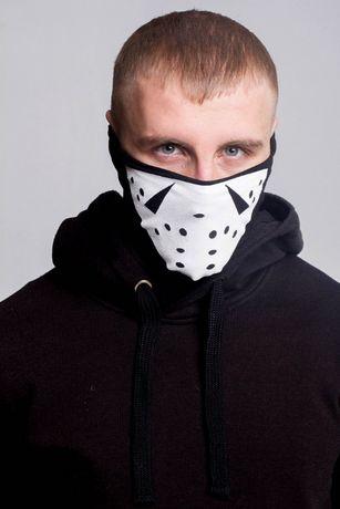 Защитная маска шапка Бафф FDR Jason Black