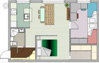Двокімнатна квартира в новобудові