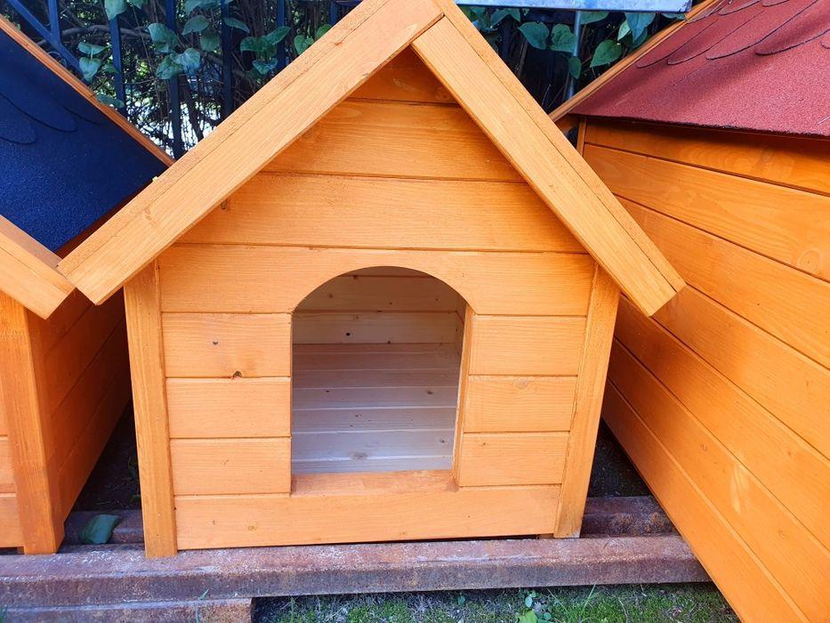 Buda dla psa rozmiar M dom dla psa kojec klatka dowóz Klimontów - image 1