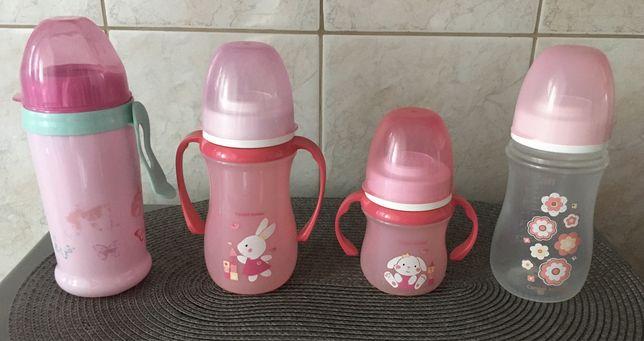 Бутылочка(молоко,смесь,каша) и поильники(носик,трубочка) Canpol Babies
