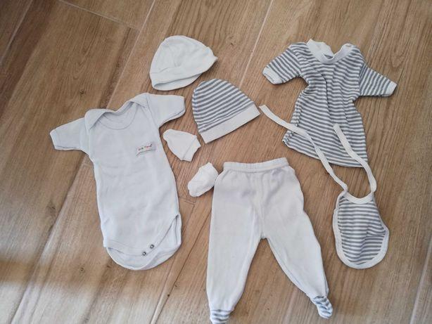Zestaw ubrań 62, wyprawka noworodek
