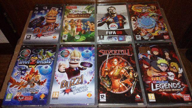 jogos PSP portatil com caixa