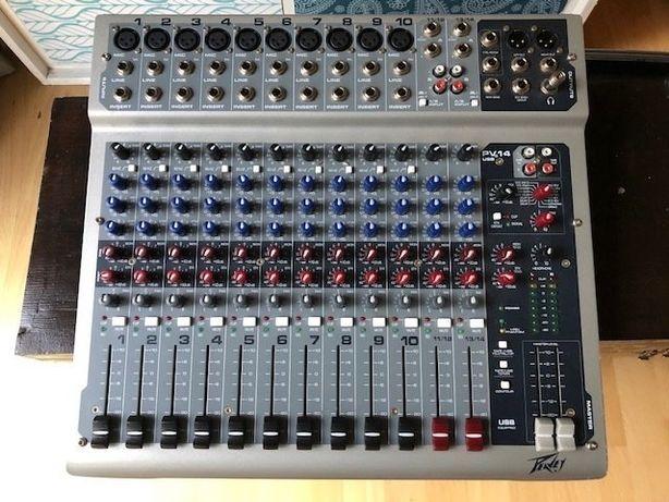Mixer Peavey usb Pv 14