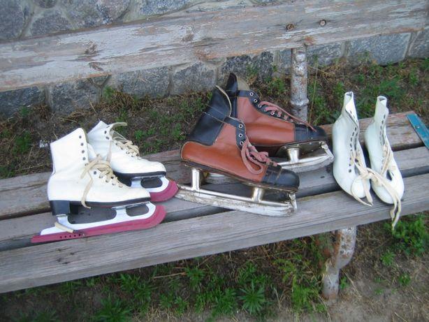 коньки для фигурного катания три пары