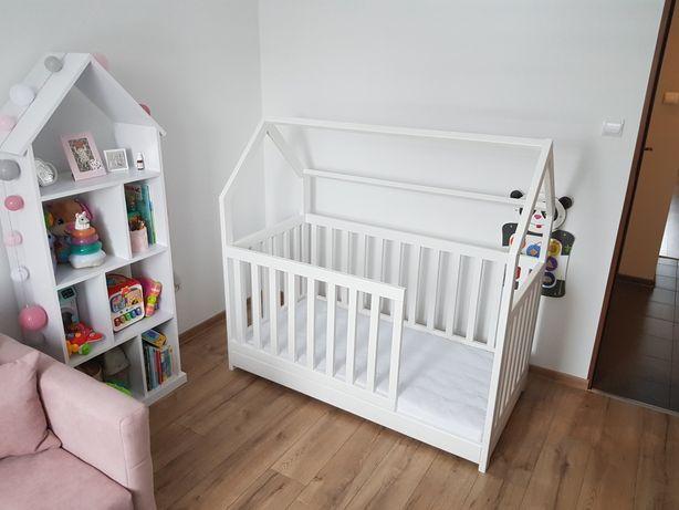 Łóżko domek skandynawskie dla dziecka tipi