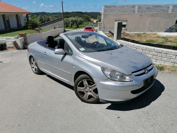 Peugeot 307 cc só peças