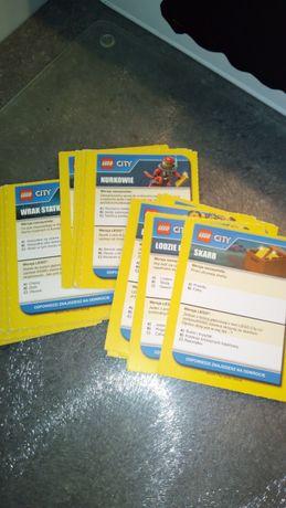 Lego city karty zabawa ,gra